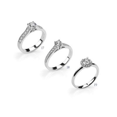 Anelli con diamanti - collezione Incanti
