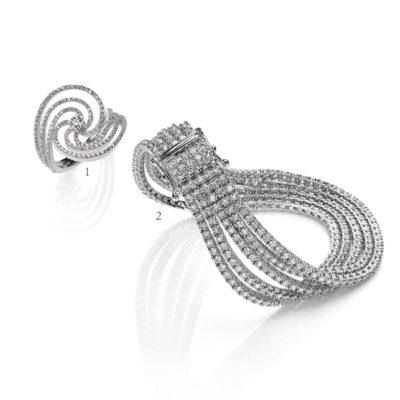 Anello e bracciale - collezione Bellezza