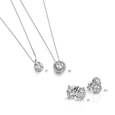 Orecchini e pendenti con diamanti - collezione Divina