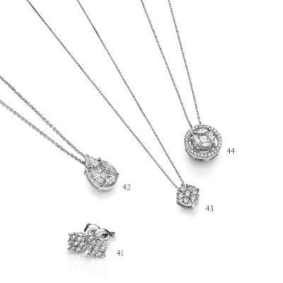 Orecchini e pendenti con diamanti-collezione Divina