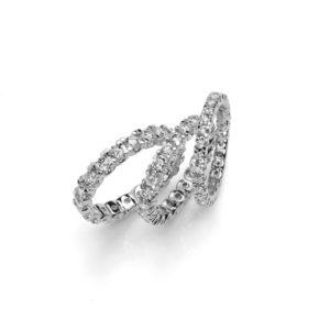 fedine a giro con diamanti